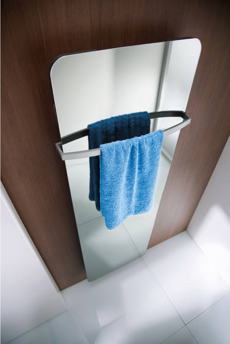 Designheizkörper Softcube Spiegelfront