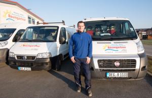 Kundendiensttechniker Andrej Bicherdt