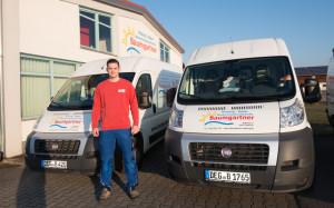 Kundendiensttechniker Tobias Ebner
