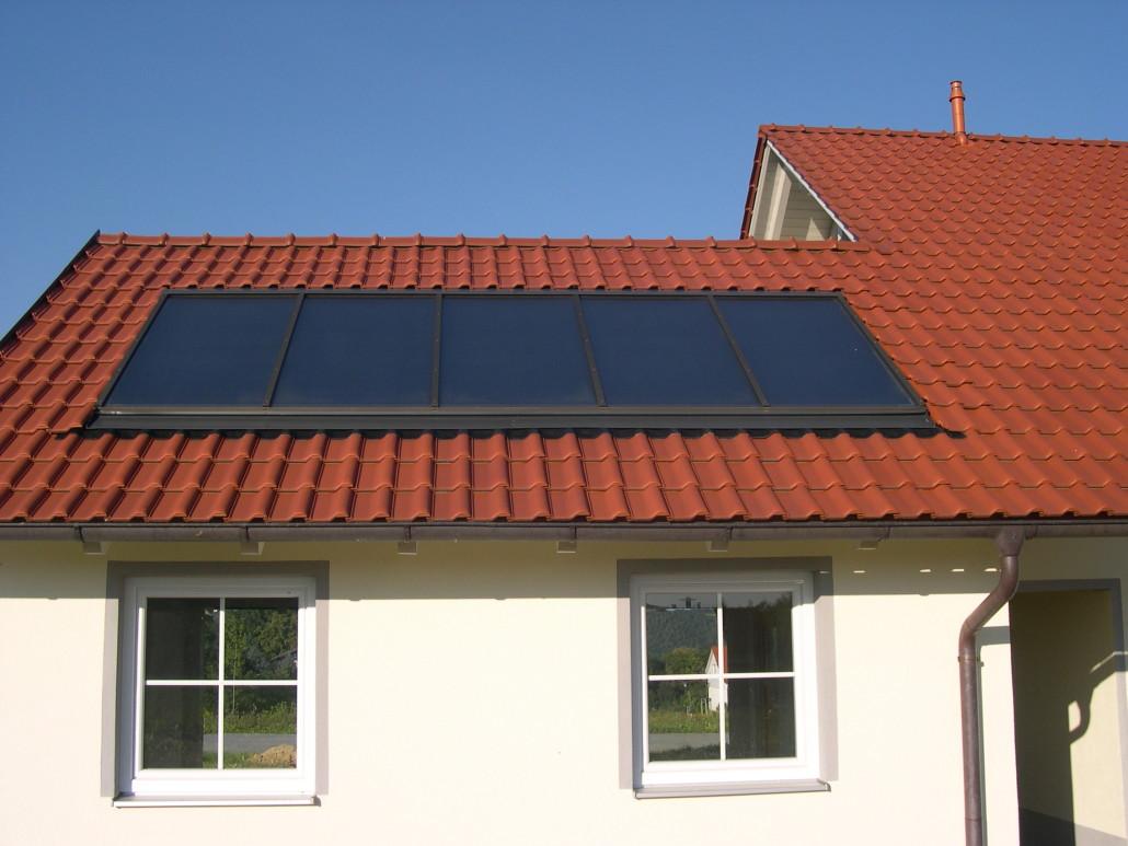 Solaranlage Indach / Fa. K. / Vilshofen